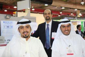 Inshaa group companys booth in big 5 Kuwait 2014